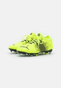Puma - FUTURE Z 4.1 MXSG - Screw-in stud football boots - yellow alert/black/white - 1