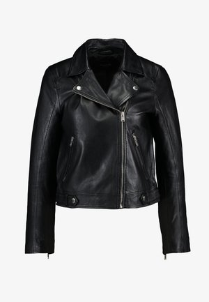 SLFKATIE JACKET - Leren jas - black