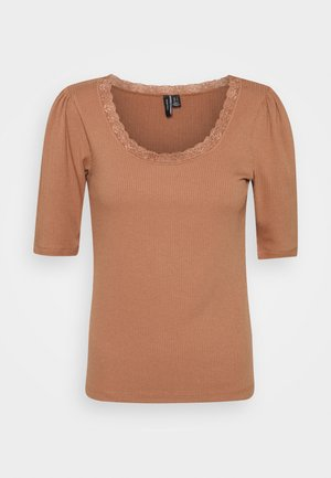 VMLAYLA - T-shirt basique - mocha mousse