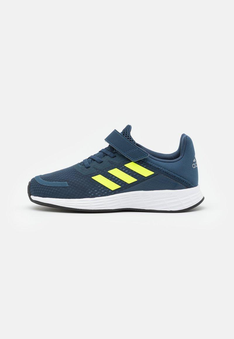 adidas Performance - DURAMO SL UNISEX - Sports shoes - crew navy/solar yellow/halo silver