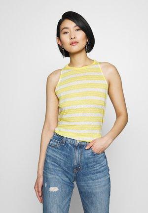 TANK - Top - yellow