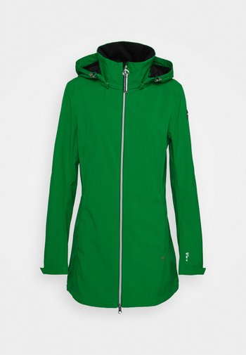 ISOLA - Soft shell jacket - green