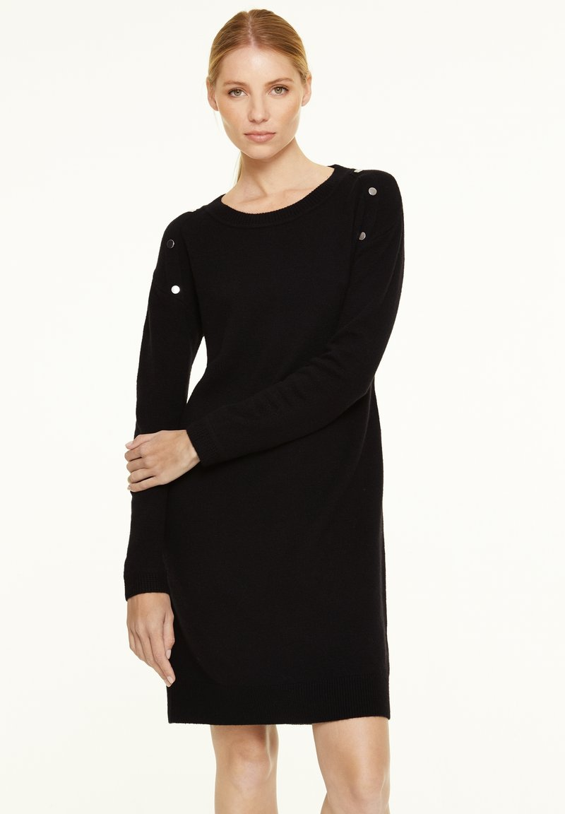 comma - Jumper dress - black