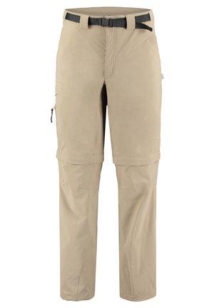 "MERU HERREN WANDERHOSE/TREKKINGHOSE/ZIPP-OFF-HOSE ""ALCOY"" - Outdoor trousers - beige (120)"