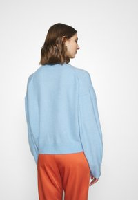 Weekday - AGGIE  - Sweter - light blue - 2