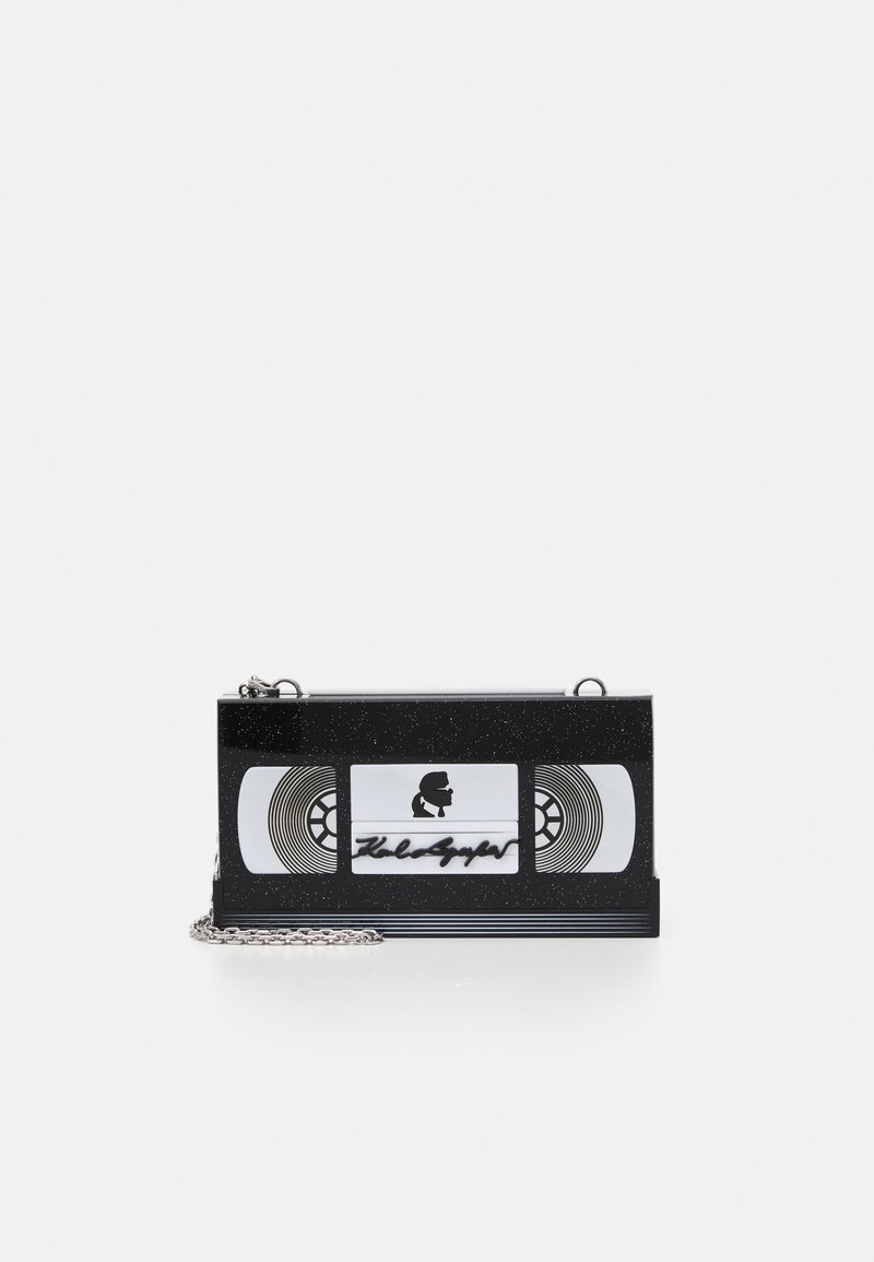 KARL LAGERFELD - VIDEO TAPE MINAUDIERE - Clutch - black