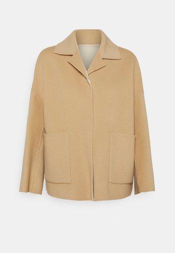SELVA - Short coat - honey