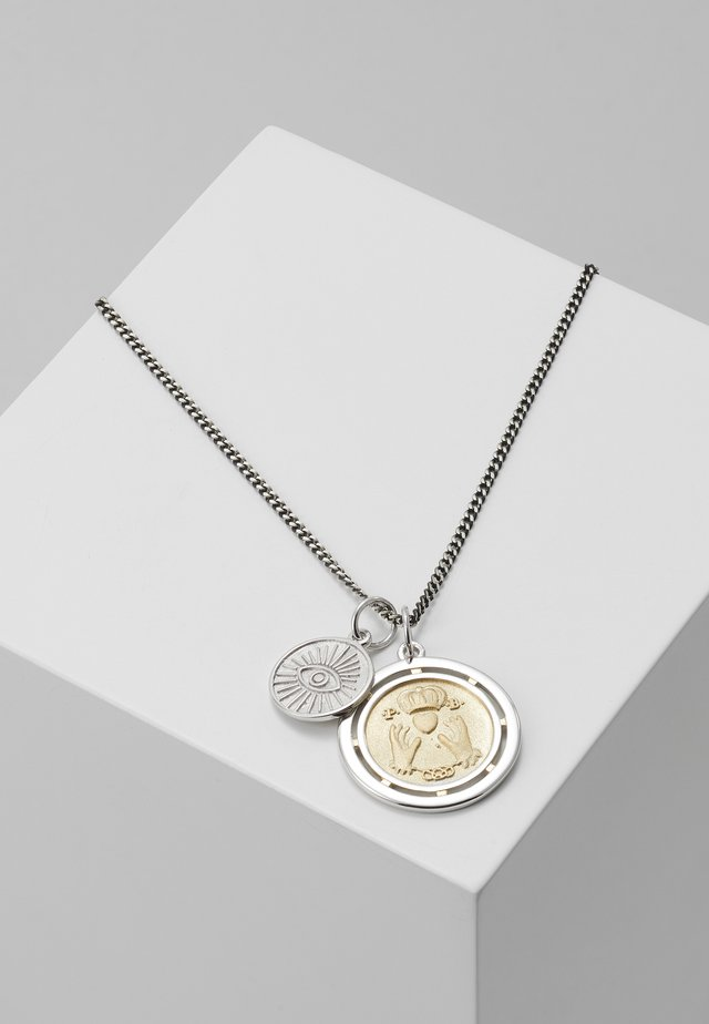 TEST OF TIME PENDANT NECKLACE - Ketting - silver-coloured