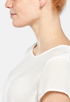NINO  - Earrings - rose goldfarbend