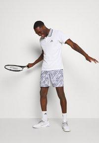 adidas Performance - PRINTED SHORT - Sports shorts - grey - 3