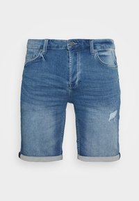 Only & Sons - ONSPLY  - Jeansshorts - blue denim - 4