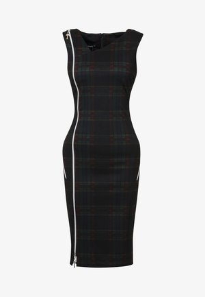 KALETA - Shift dress - grün schwarz