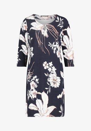 Day dress - dark blue-rosé