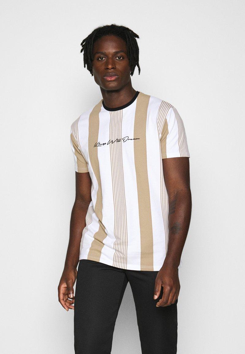 Kings Will Dream - VEDLO TEE - T-shirt print - stone