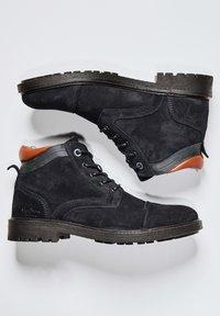 Pepe Jeans - PORTER  - Šněrovací kotníkové boty - azul marino - 1