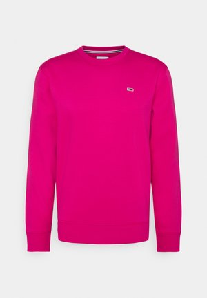 REGULAR C NECK - Collegepaita - bright cerise pink