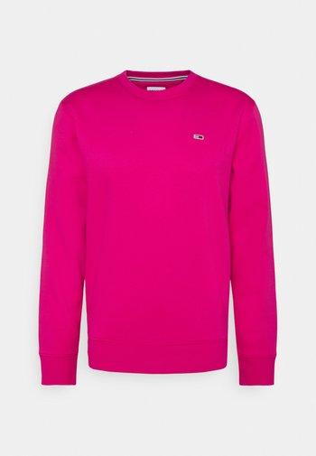 REGULAR C NECK - Sweatshirt - bright cerise pink