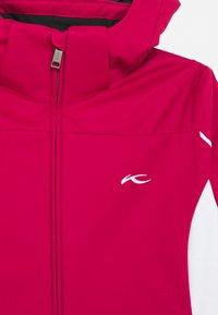 Kjus - GIRLS FORMULA JACKET - Ski jacket - mulberry/white - 3