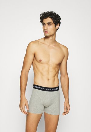 JACPLAIN TRUNKS 3 PACK - Pants - light grey melange/surf the web