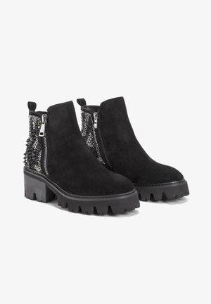 SABINA - Platform ankle boots - black