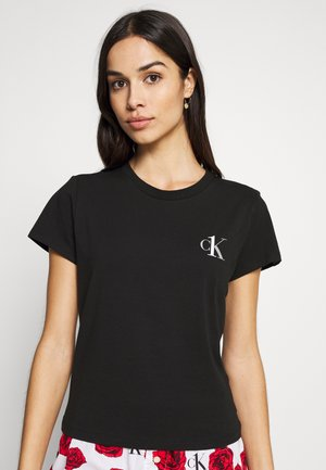CK ONE LOUNGE CREW NECK - Maglia del pigiama - black
