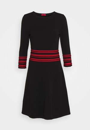 SANDREYYA - Jumper dress - black