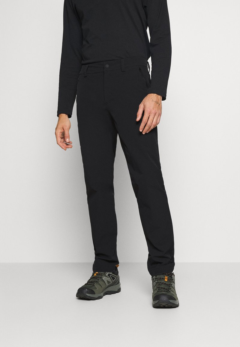 Salewa - VEZZANA - Trousers - black out