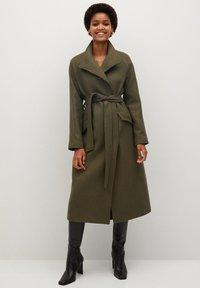 Mango - VENUS - Classic coat - khaki - 1