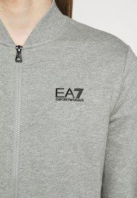 EA7 Emporio Armani - Felpa aperta - medium grey - 6