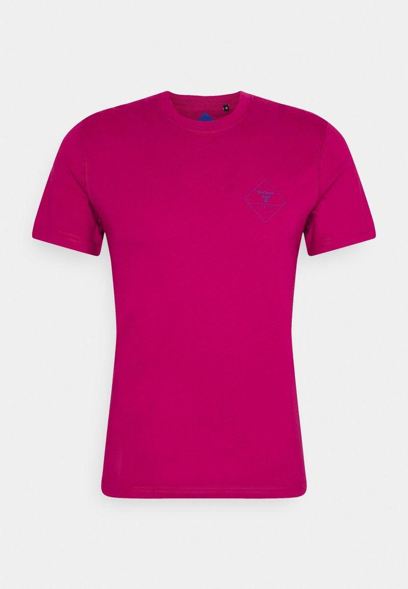 Barbour Beacon - BOX LOGO TEE - T-shirt med print - cerise