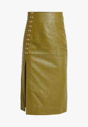 SWEET MIDI SKIRT - Pencil skirt - khaki