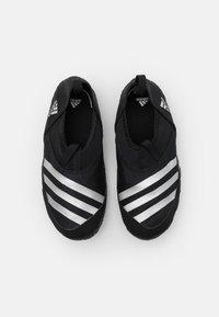 adidas Performance - JAWPAW UNISEX - Watersports shoes - core black/silver metallic - 3