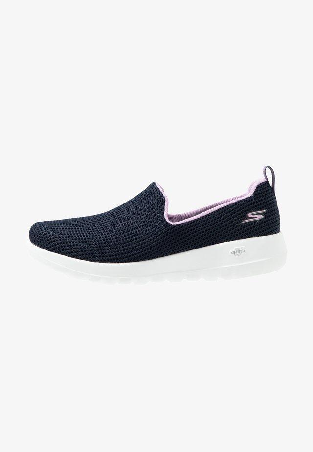 GO WALK JOY - Walking trainers - navy/lavender