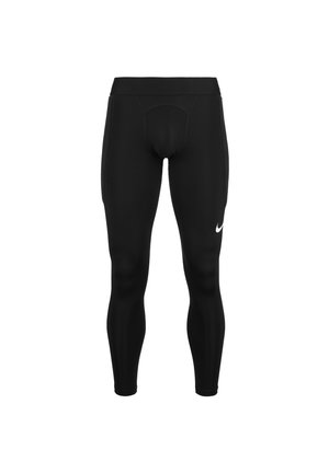 Leggings - black / white