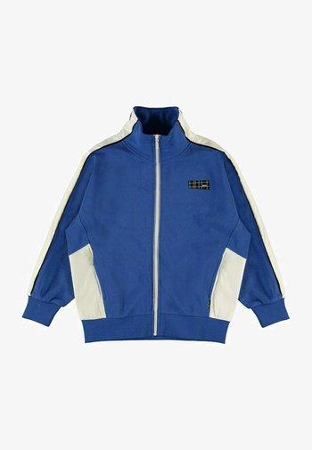 Zip-up sweatshirt - cobalt