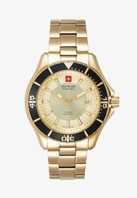 Swiss Military Hanowa - NAUTILA GENTS - Watch - gold/black/champagne - 1