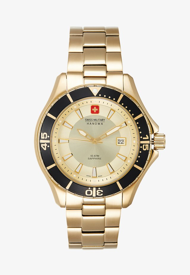 NAUTILA GENTS - Watch - gold/black/champagne
