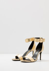 Versace Jeans Couture - High heeled sandals - oro - 4