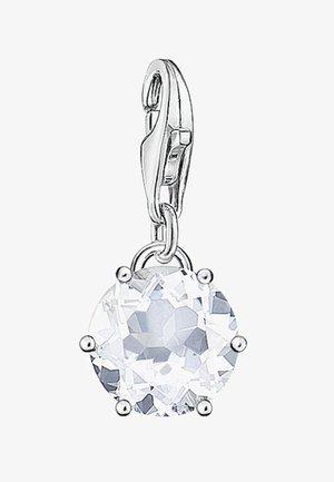 APRIL - Pendant - silver-colored/white