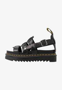 Dr. Martens - TERRY - Sandály na platformě - black brando - 1