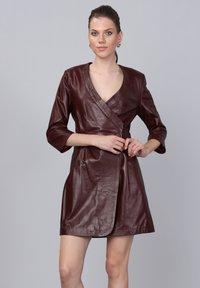 Basics and More - Day dress - damson - 3