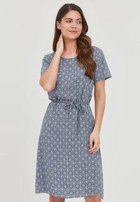 Fransa - FRANSA - Day dress - vintage indigo mix - 0