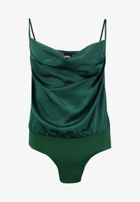 Missguided - COWL NECK BODYSUIT - Top - green - 3