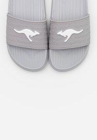 KangaROOS - KANGASLIDE - Sandály do bazénu - vapor grey - 5