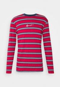 CLASSIC HORIZONTAL STRIPE UNISEX - Långärmad tröja - red