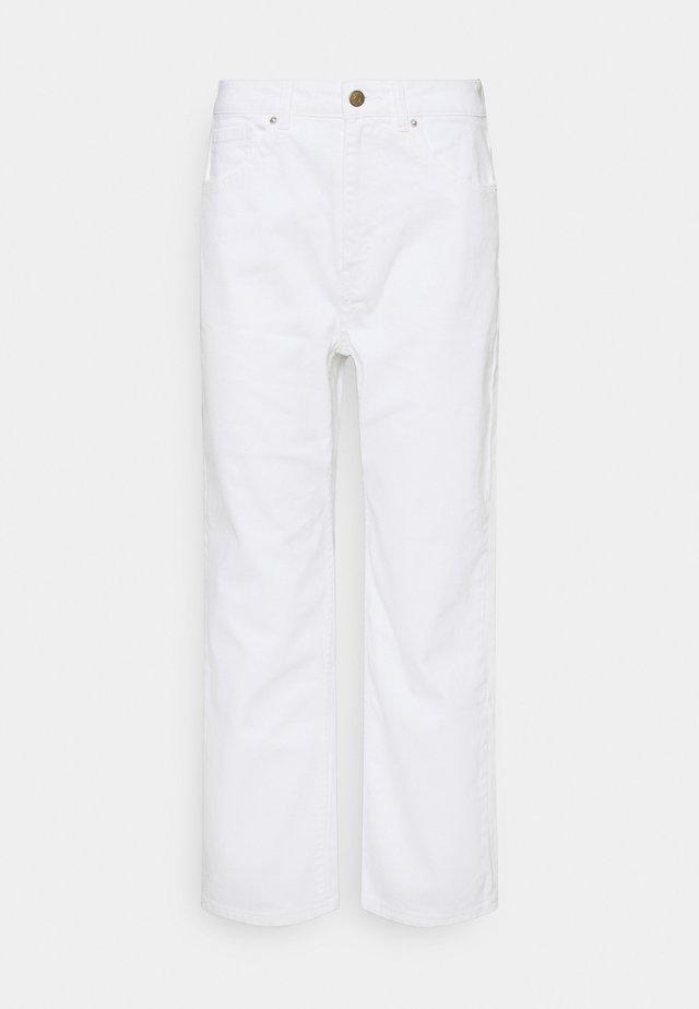 ONLMEGAN LIFE - Jeans Straight Leg - white