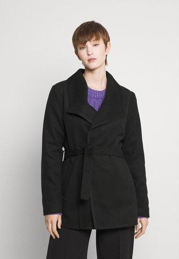 JDYDANNIE ELISE SHORT - Krótki płaszcz - black