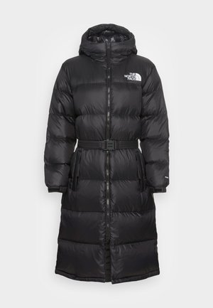 NUPTSE BELTED LONG - Down coat - black