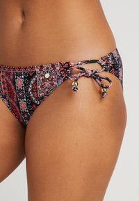 s.Oliver - TRIANGEL SET - Bikini - black/orange - 5