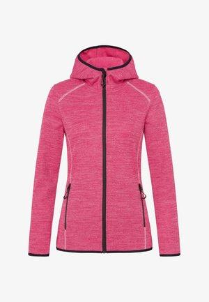 Fleece jacket - sweet pink